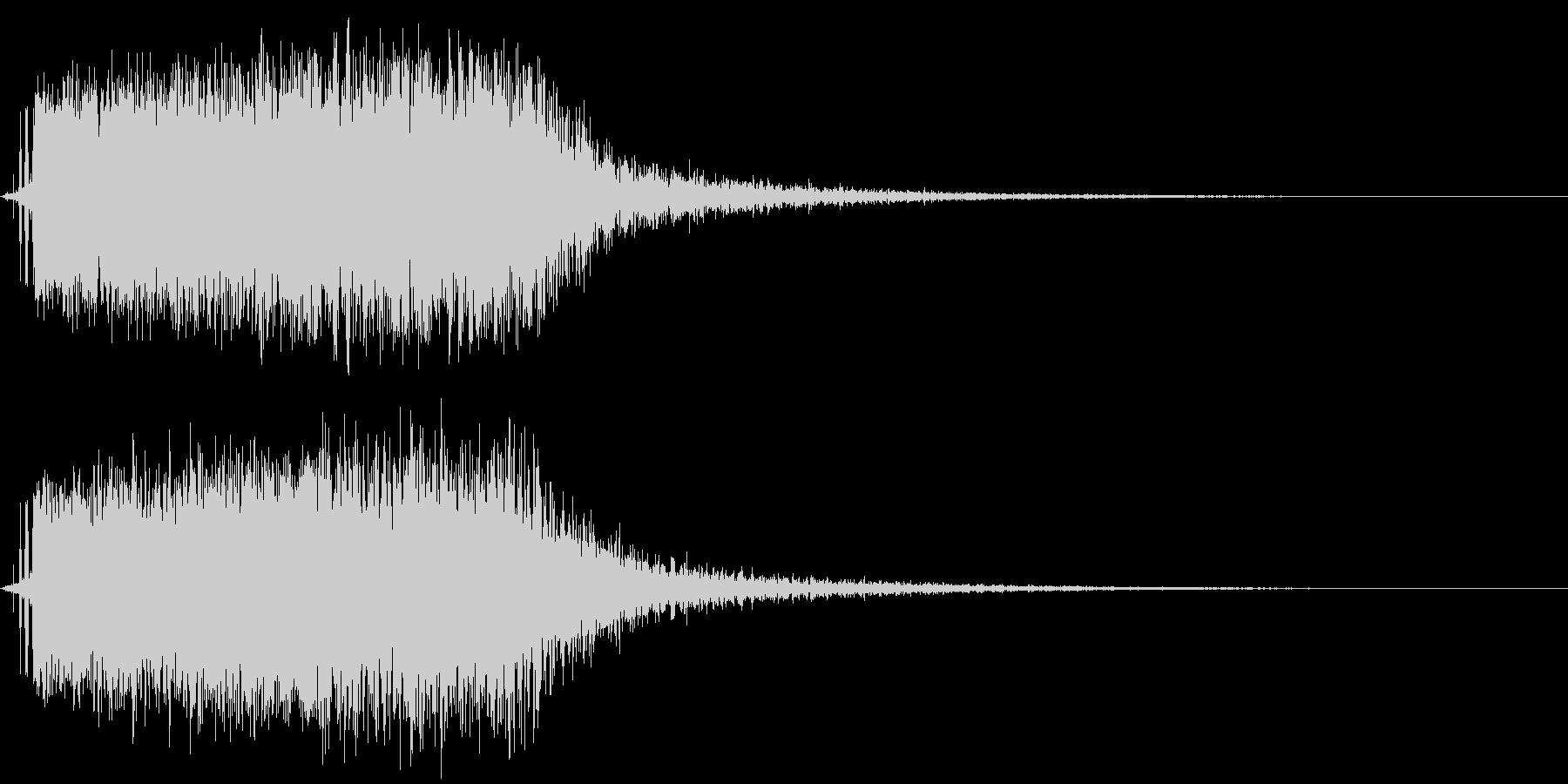 モンスターの鳴き声(翼竜系1)の未再生の波形