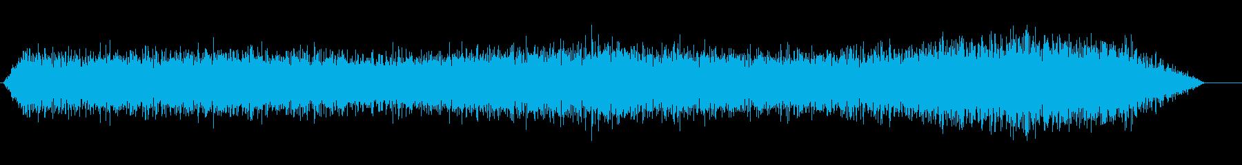 悪魔のドローンの再生済みの波形