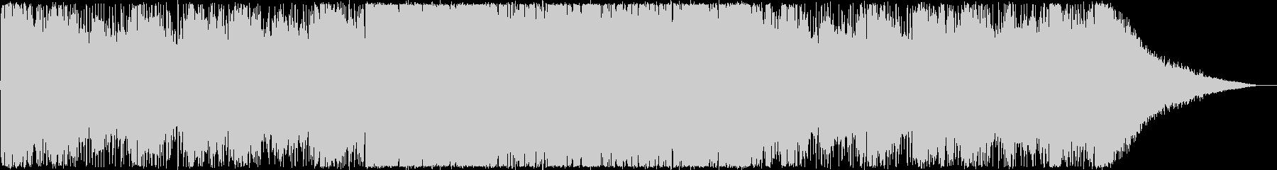 オープニング・楽しい夏・トロピカルハウスの未再生の波形