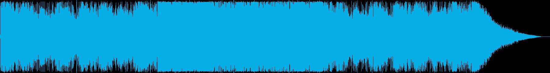オープニング・楽しい夏・トロピカルハウスの再生済みの波形