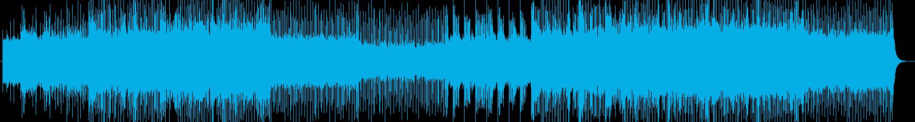 「ハード/ロック/ペイン」BGM70の再生済みの波形