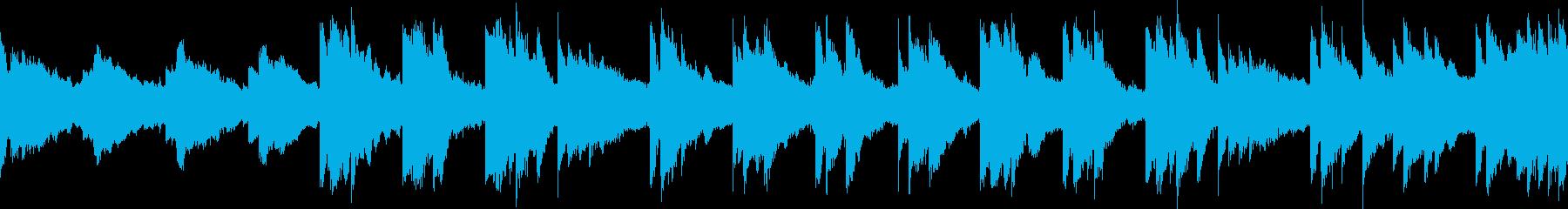 癒やし/アコースティックギター ループ版の再生済みの波形