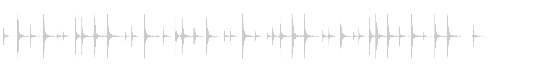 鼓6コミカル一調1和風歌舞伎アジアンイヨの未再生の波形