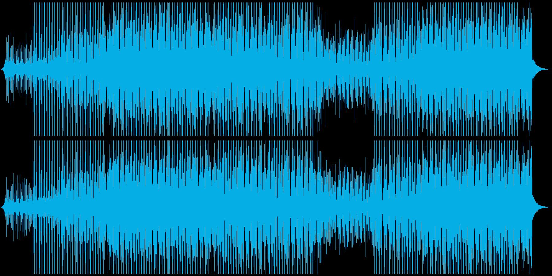 リラックスダンスの再生済みの波形