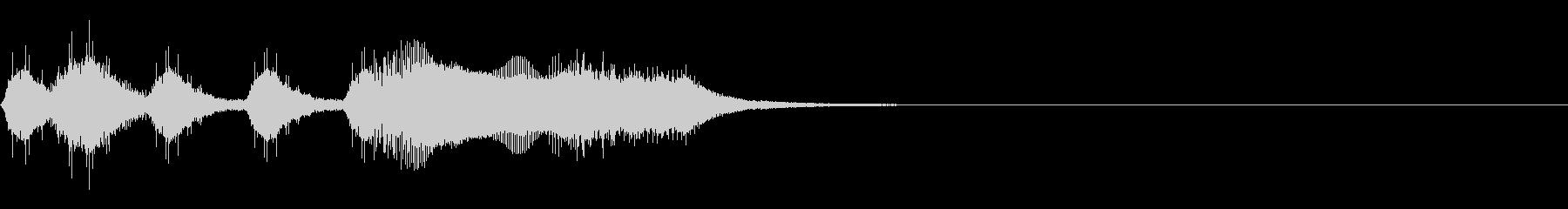 レベルアップファンファーレ【1】の未再生の波形