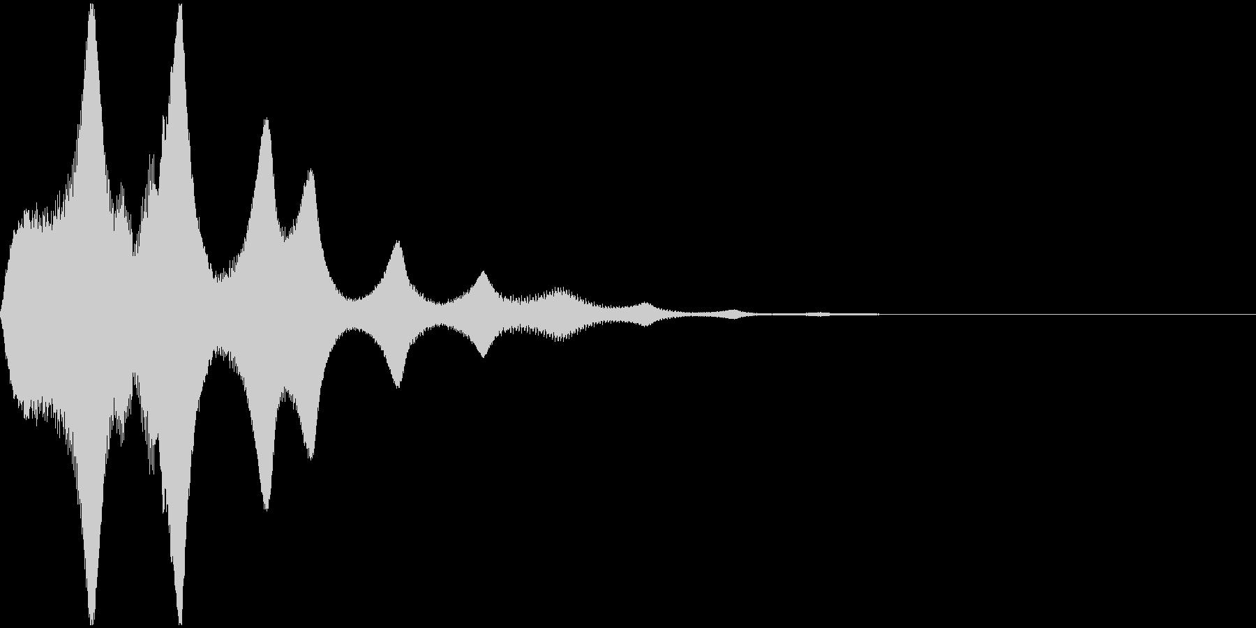 プゥオーンの未再生の波形