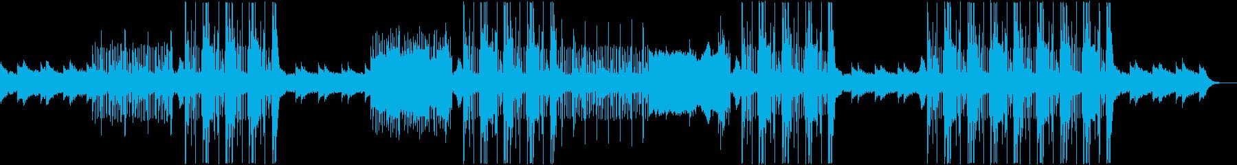 メロディックなトラップ系ビートの再生済みの波形