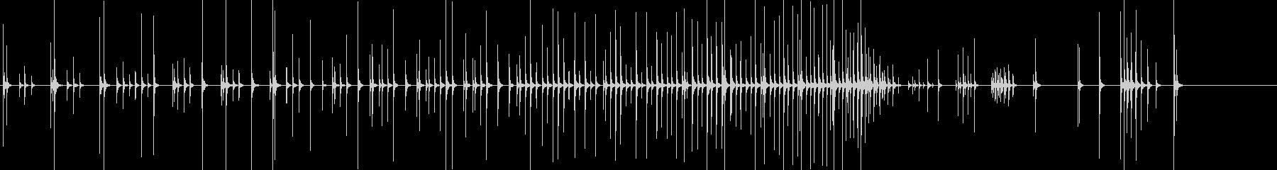 小木魚木章11歌舞伎黒御簾下座音楽和風日の未再生の波形