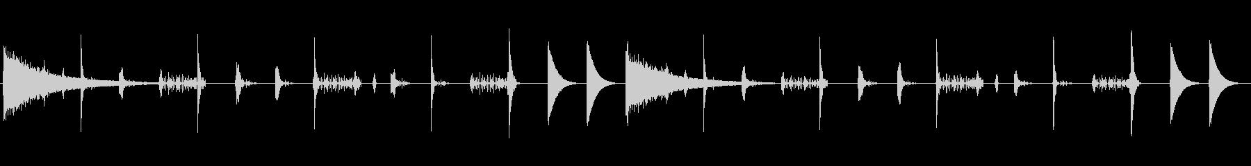 レトロなリズムボックスサウンドのループ…の未再生の波形