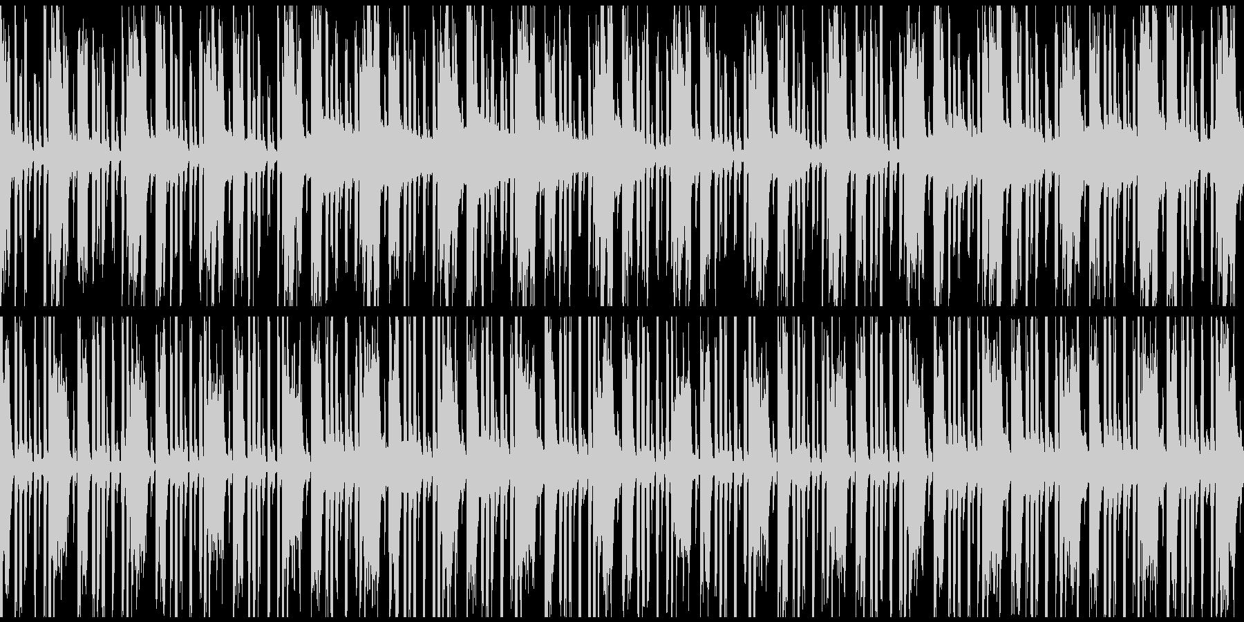ニュース報道BGMの未再生の波形