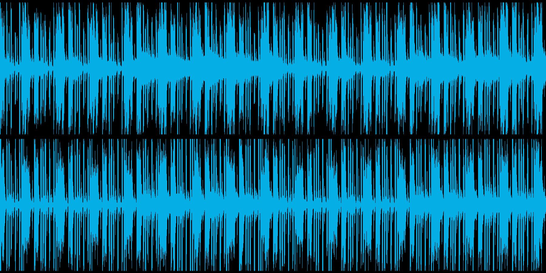 ニュース報道BGMの再生済みの波形