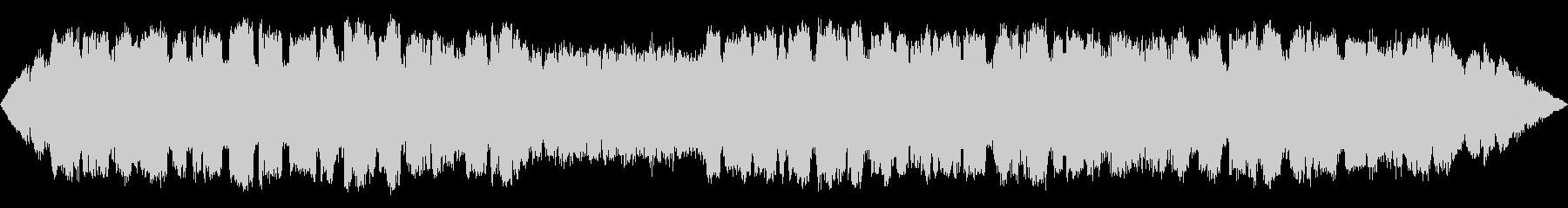 不思議な森の静かな笛のBGMの未再生の波形