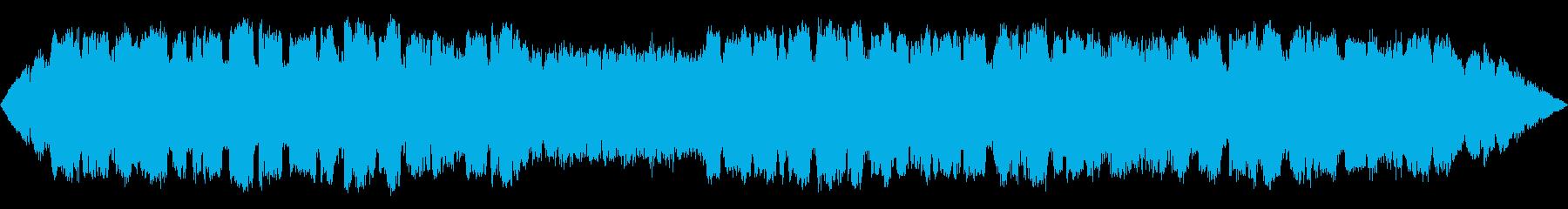 不思議な森の静かな笛のBGMの再生済みの波形