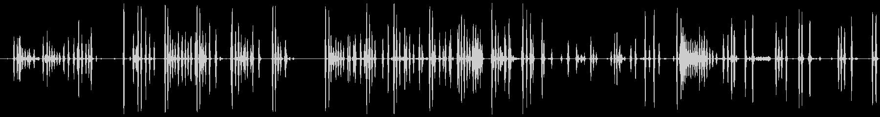 DOG BARKING 11、シベ...の未再生の波形