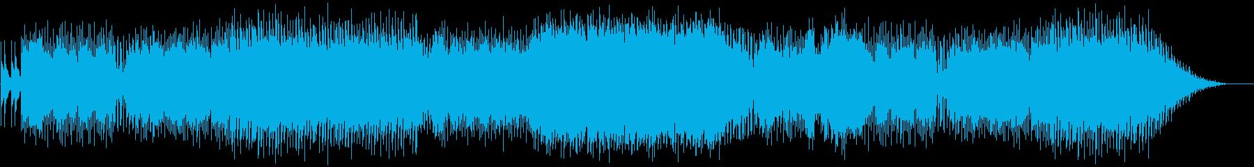 暗い雰囲気の電子楽器。劇的で神秘的...の再生済みの波形