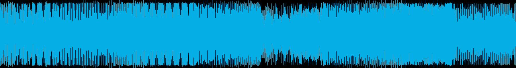 BPM140:ワークアウト:ループ版の再生済みの波形