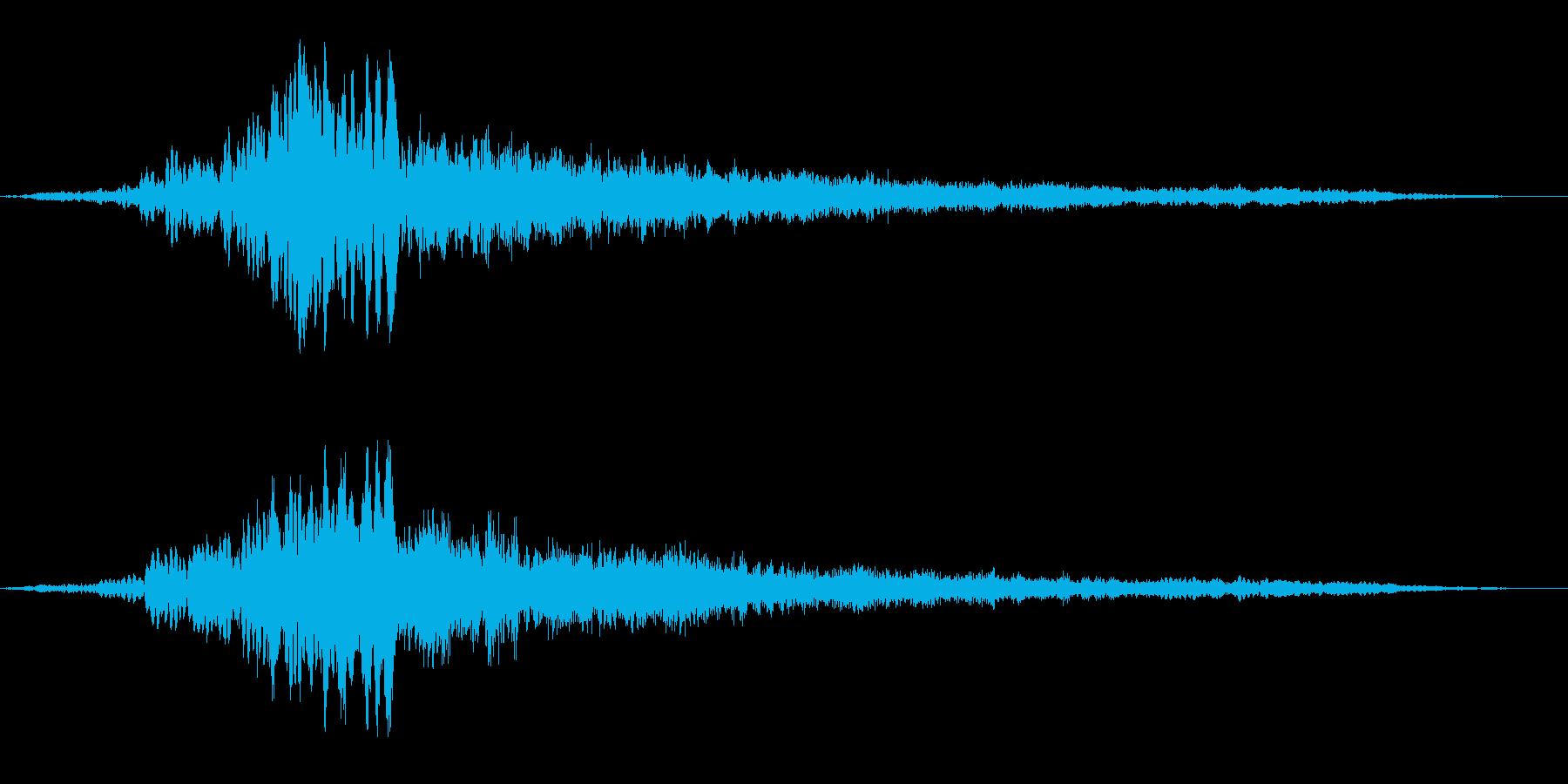フーワーーーーーァンの再生済みの波形