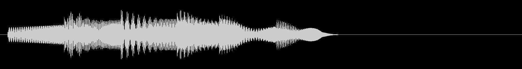 KANTアイキャッチソフト電子音1の未再生の波形