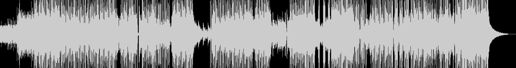 渋くてワイルドなヒップホップ 長尺+の未再生の波形