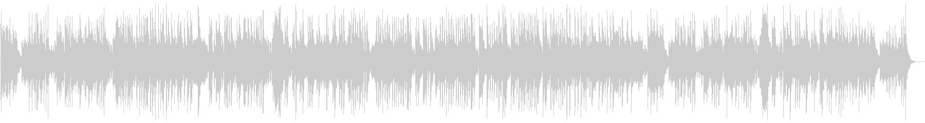 A lovely and light classical piano sound's unreproduced waveform