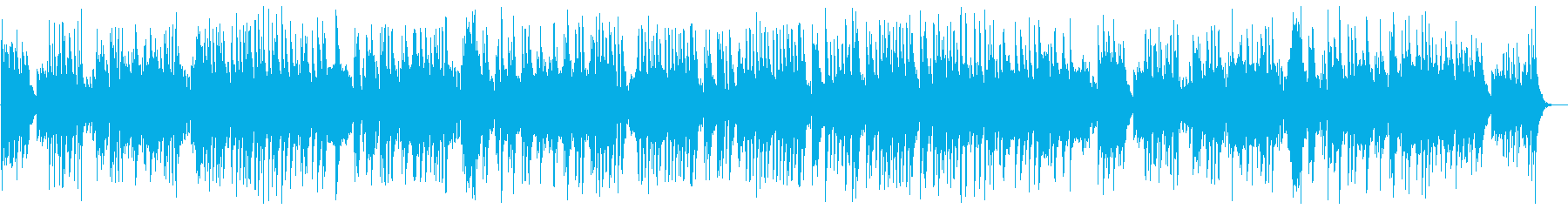 A lovely and light classical piano sound's reproduced waveform