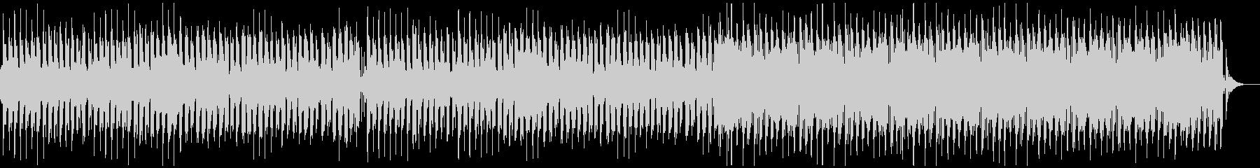 レトロゲーム風のかわいいBGMの未再生の波形