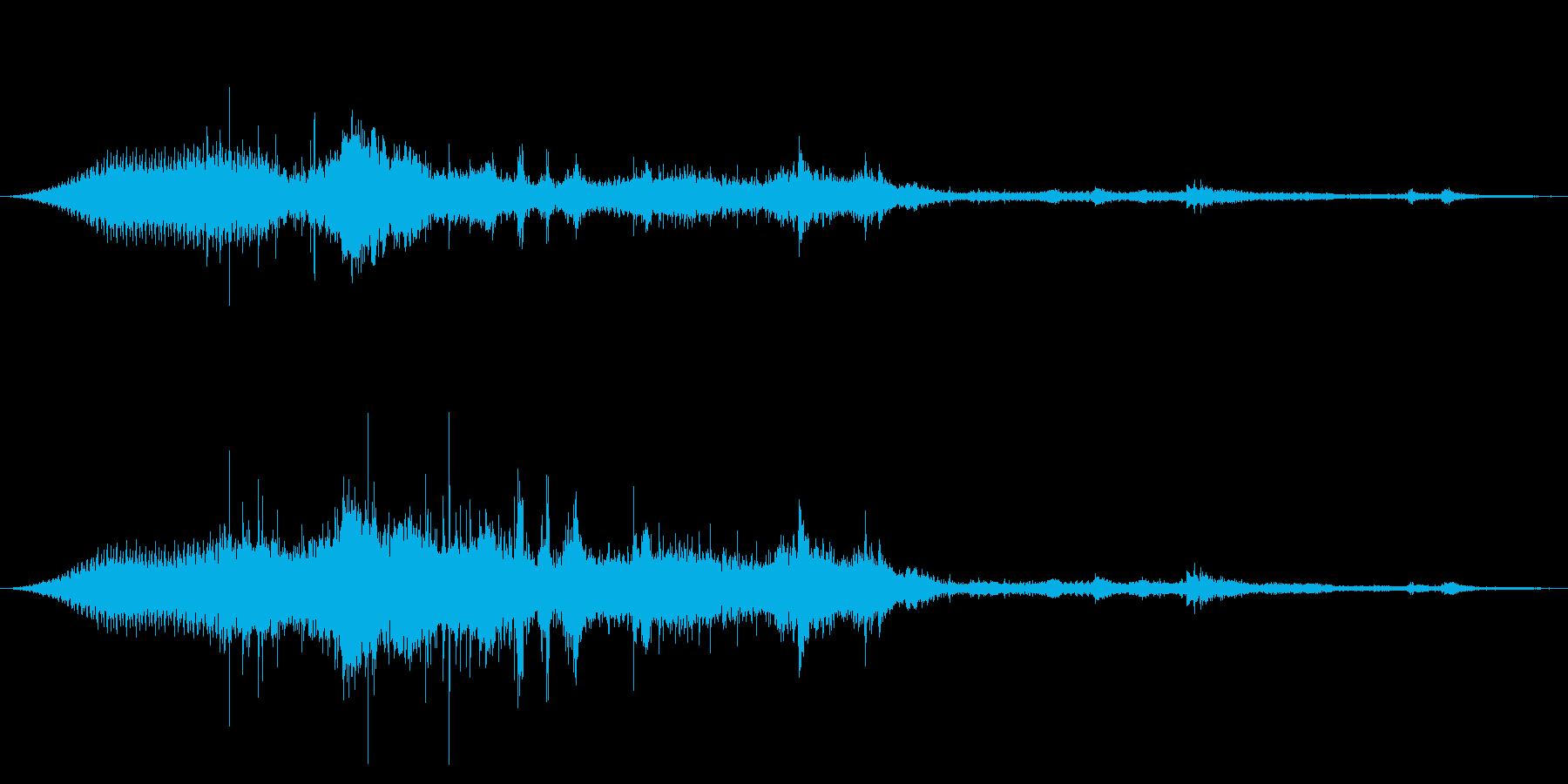 ラージSuvおよびメタルランドスケ...の再生済みの波形