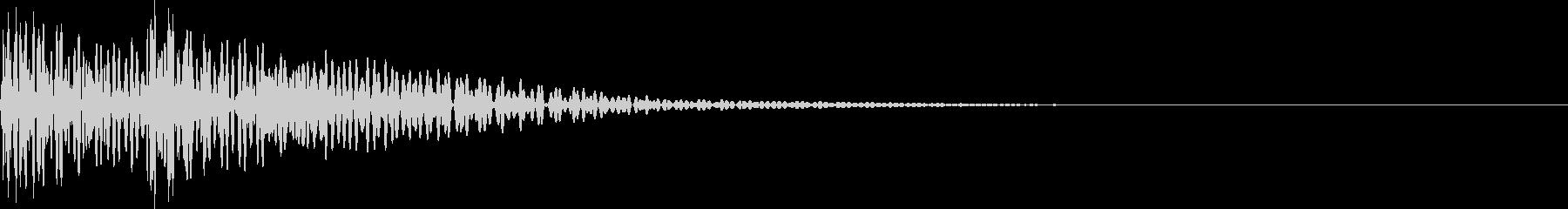 ドドン(太鼓)の未再生の波形