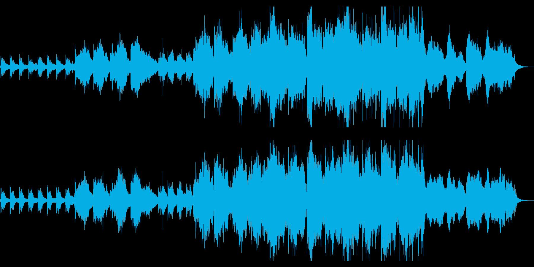 日本情緒豊かな唱歌を思わせる泣ける交響詩の再生済みの波形