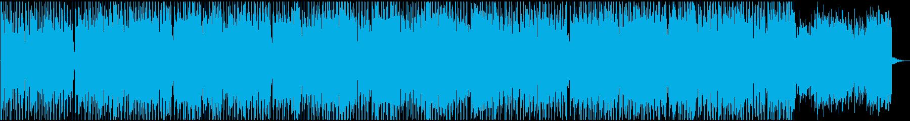 ほのぼの・日常・インディーポップBGMの再生済みの波形