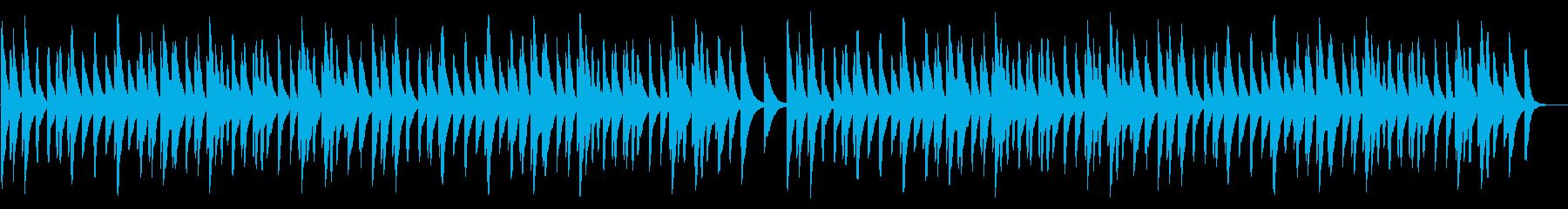 雪 18弁オルゴールの再生済みの波形