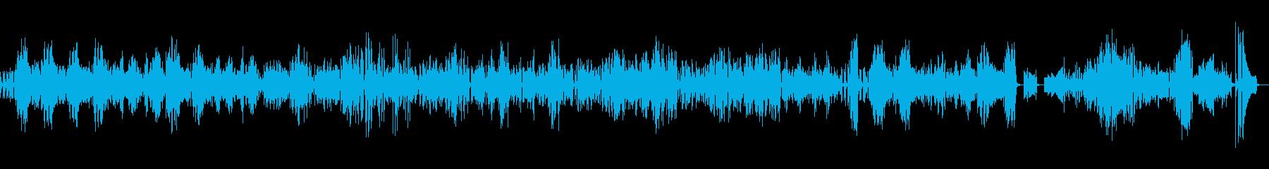ピアノソロ「華麗なる大円舞曲」の再生済みの波形