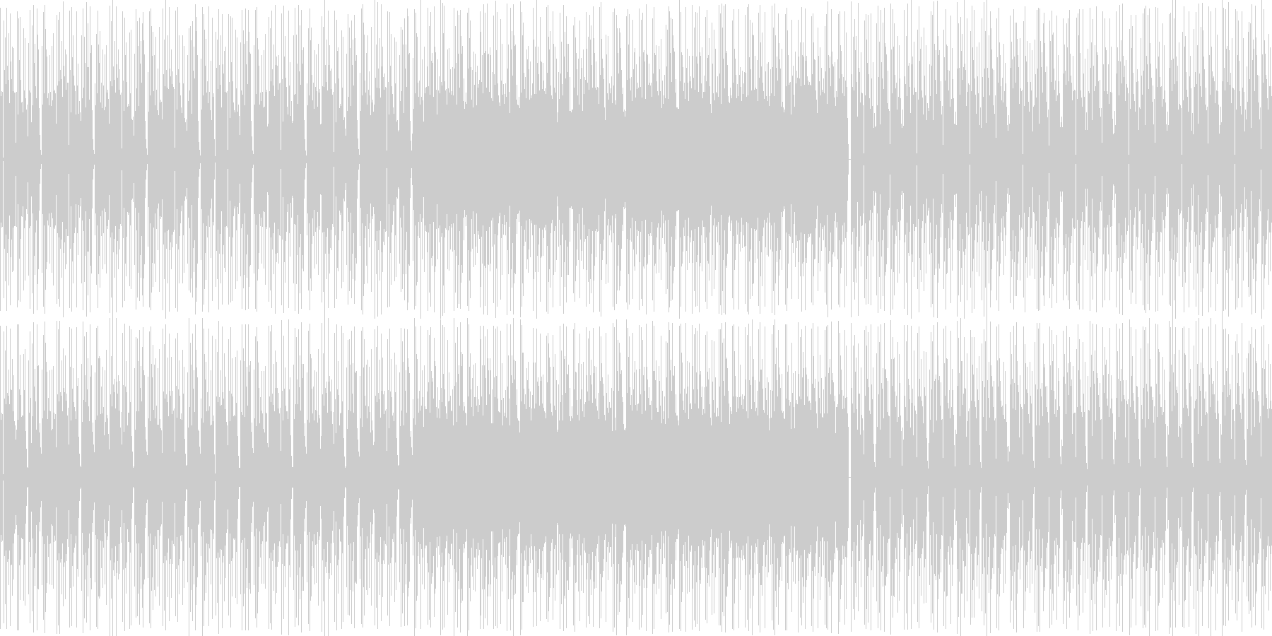 【浮遊感のあるポップス・エレクトロニカ】の未再生の波形