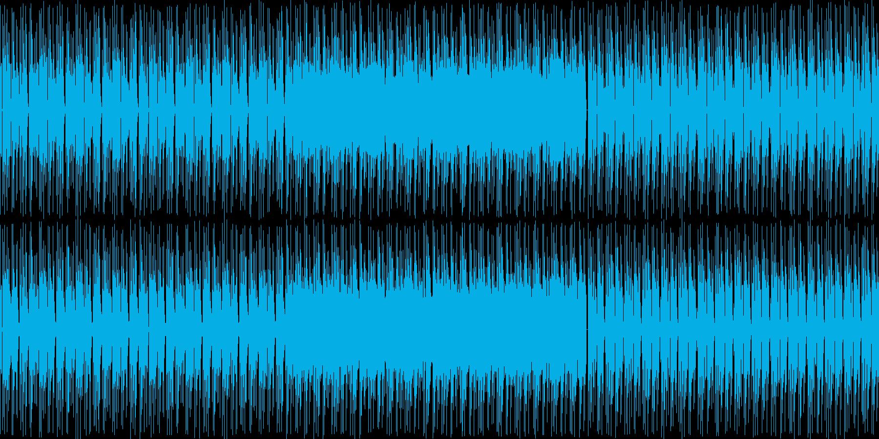 【浮遊感のあるポップス・エレクトロニカ】の再生済みの波形