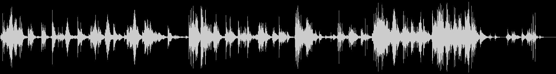 「茶摘」をロマンチックなピアノアレンジでの未再生の波形