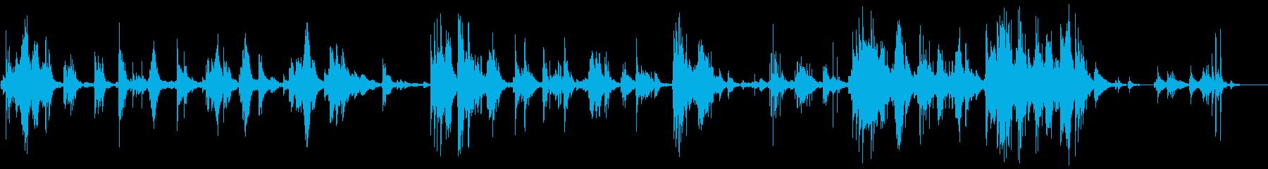 「茶摘」をロマンチックなピアノアレンジでの再生済みの波形
