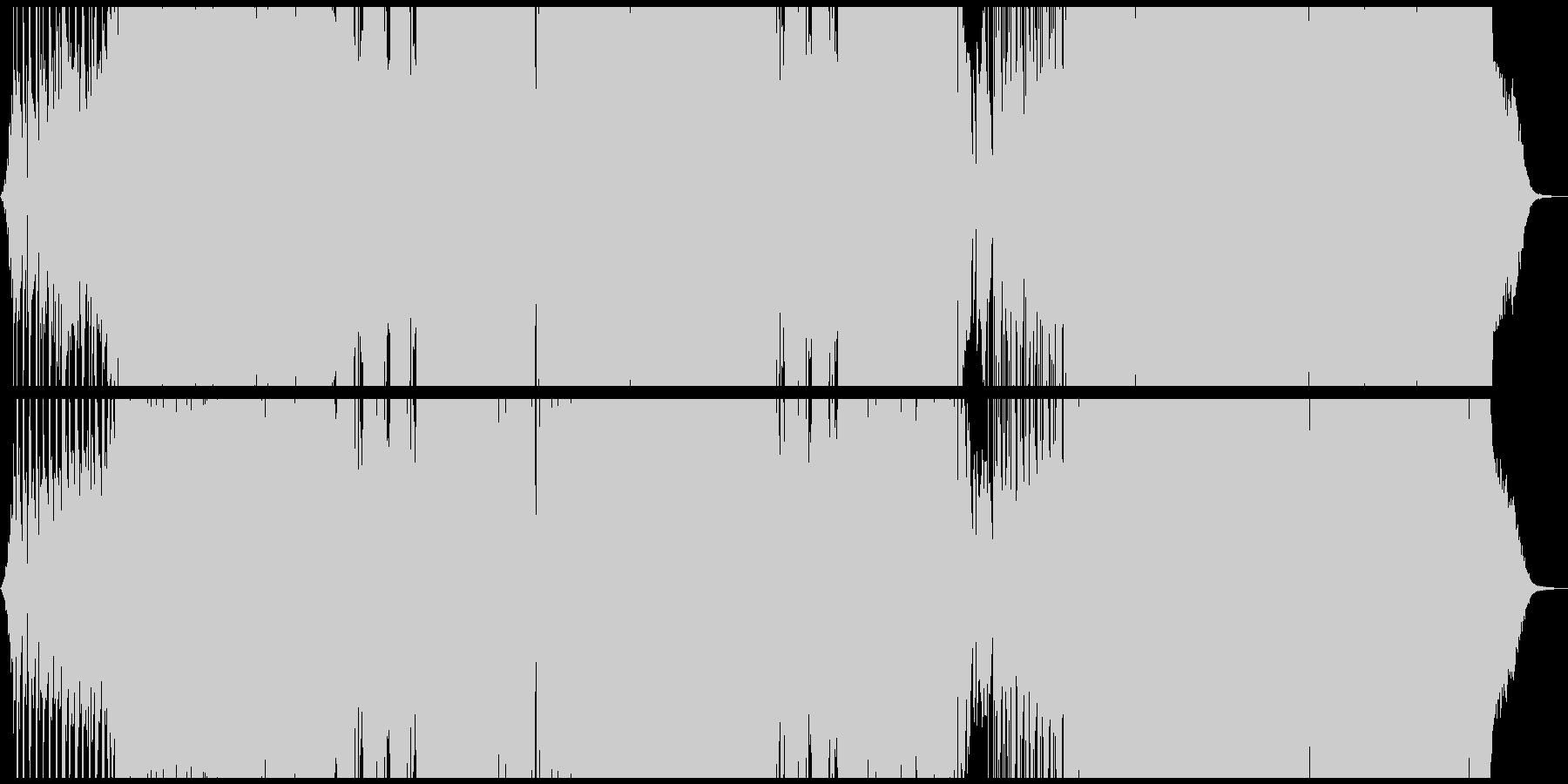 キラキラとしたシンセのキャッチーなEDMの未再生の波形