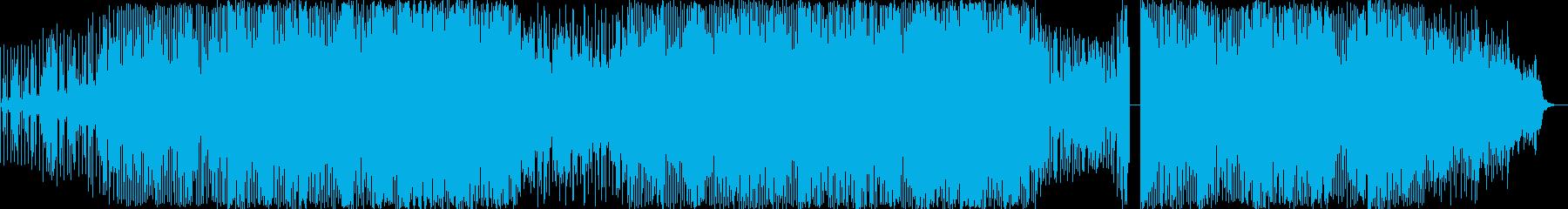 エレクトロニック アクション 楽し...の再生済みの波形