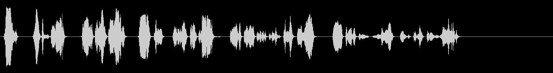 プランジャーミュートトランペット-...の未再生の波形