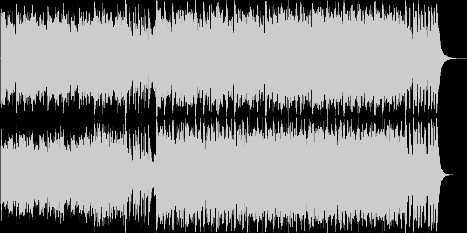 壮大なフルオーケストラBGMの未再生の波形
