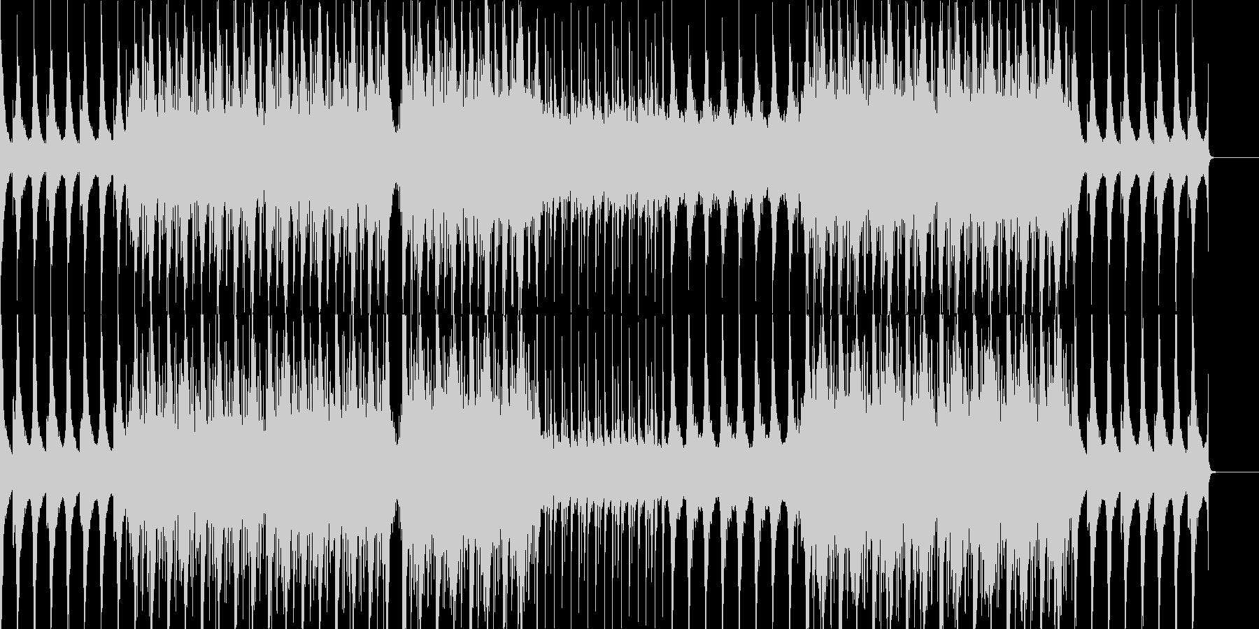 不思議な雰囲気が特徴の曲ですの未再生の波形