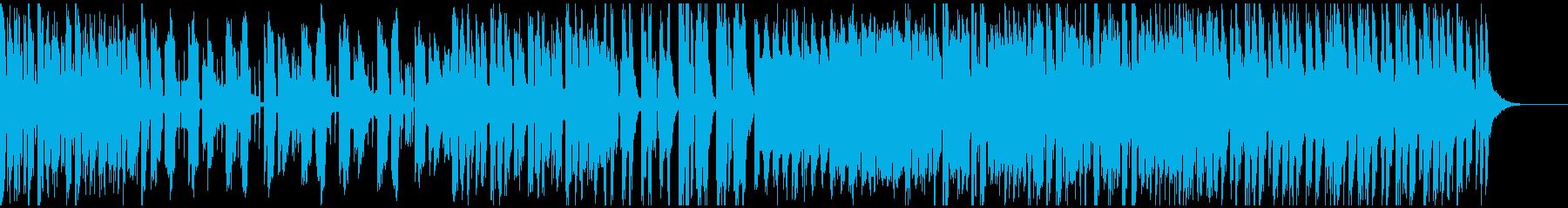 おやつをイメージしたシンセリードBGMの再生済みの波形