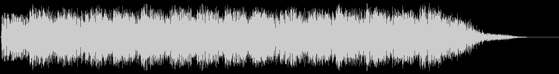 パンチの高速連打のイメージ(短め)の未再生の波形
