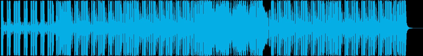 医療用精密機器など専門分野の企業VP楽曲の再生済みの波形