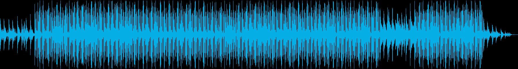 洋楽・ダーク・悲しいヒップホップ・ピアノの再生済みの波形