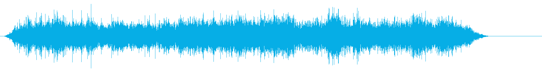 雑音博物館の環境の再生済みの波形