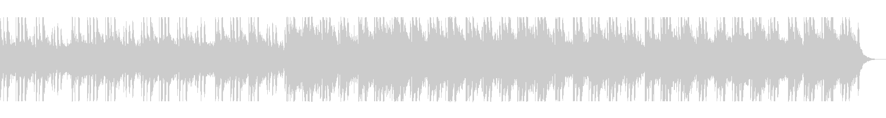 アコギ・アルペジオが美しいAOR系の未再生の波形