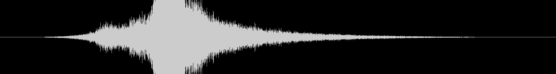 RPG系魔法イメージ音08 光の未再生の波形