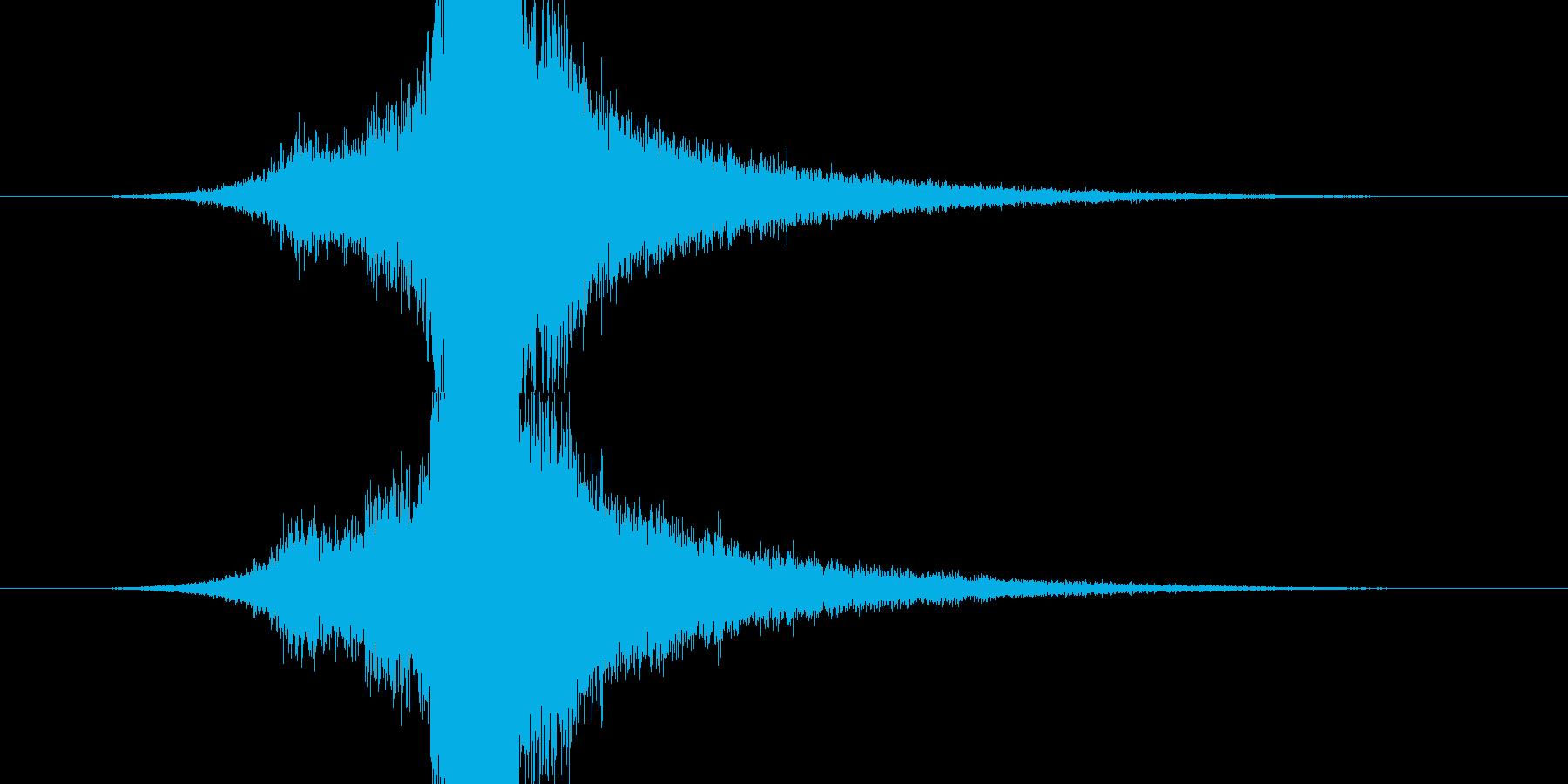RPG系魔法イメージ音08 光の再生済みの波形
