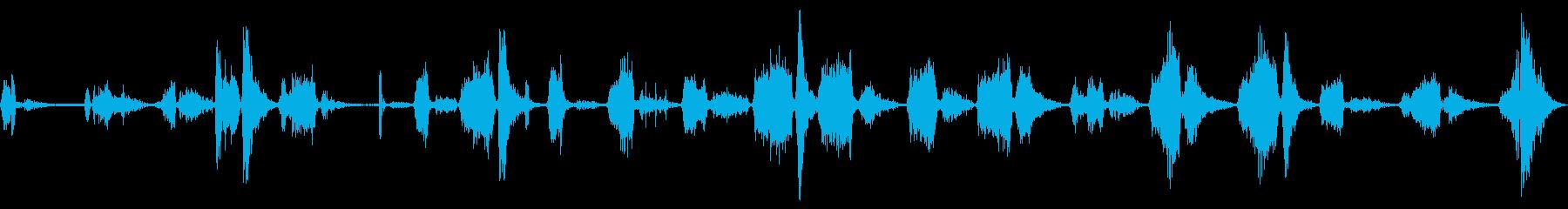 GROWLS、PURR-LIKE ...の再生済みの波形